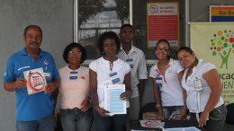 Educação Ambiental monta stand em alusão ao Dia de Combate á Dengue