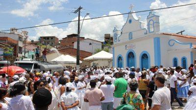 Fé e devoção são registradas durante o cortejo da Lavagem de Nossa Senhora da Conceição da Praia