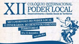 São Francisco do Conde participa do XII Colóquio Internacional da UFBA