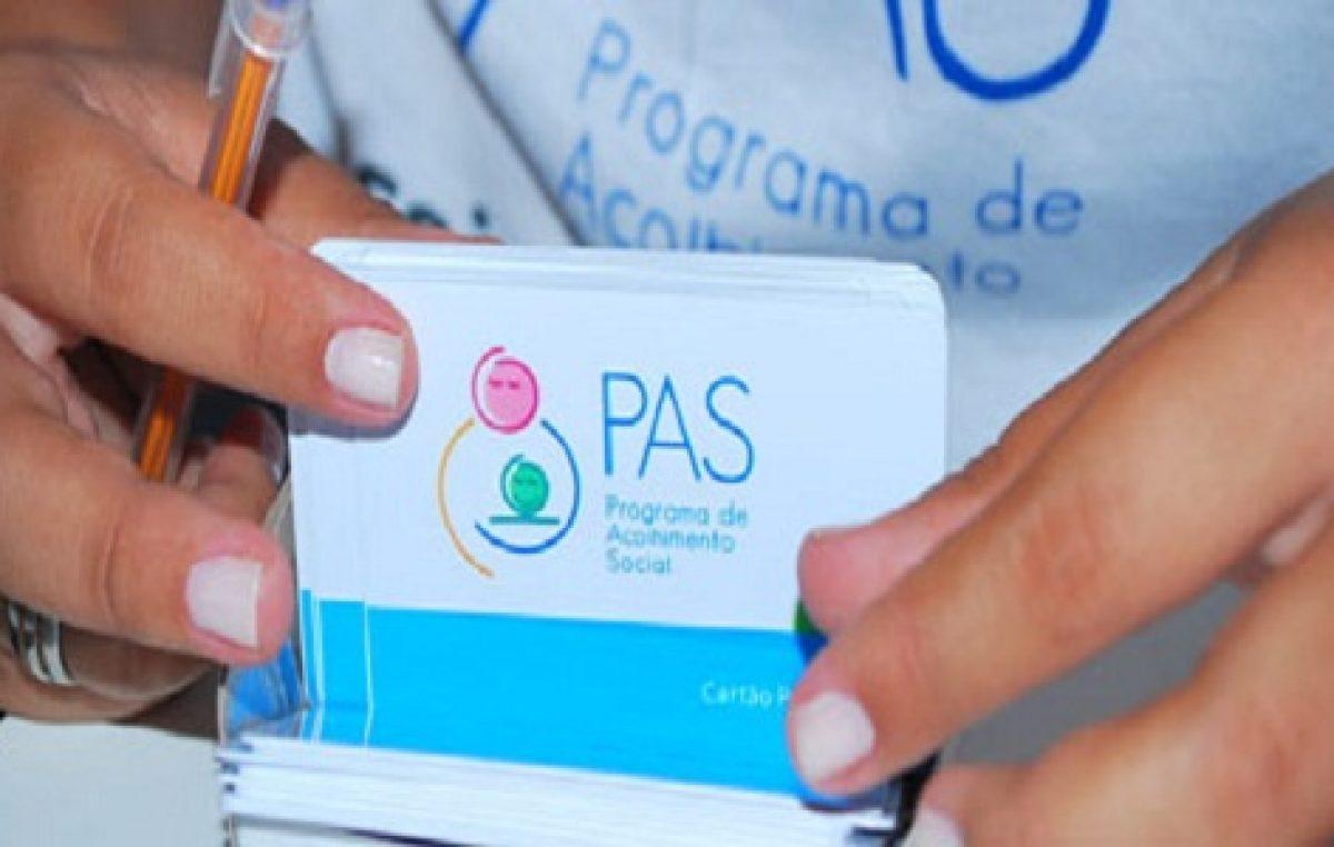 Pagamento do PAS acontece dia 10 de janeiro