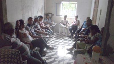 Reunião entre pescadores e marisqueiras em Madre de Deus debateu sobre problemas que estão afetando a produção do pescado na Baía-de-Todos-os-Santos