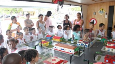 Prefeitura e Detran promoveram Educação no trânsito para crianças a partir de 05 anos