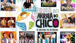 Arraiá do Chico confirma primeiras atrações do festejo junino de 2013