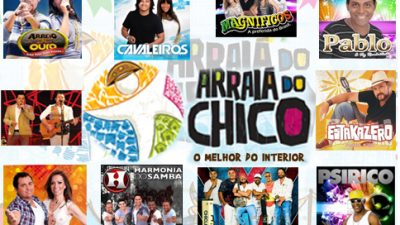 Arraiá do Chico confirma primeiras atrações do festejo junino de 2013