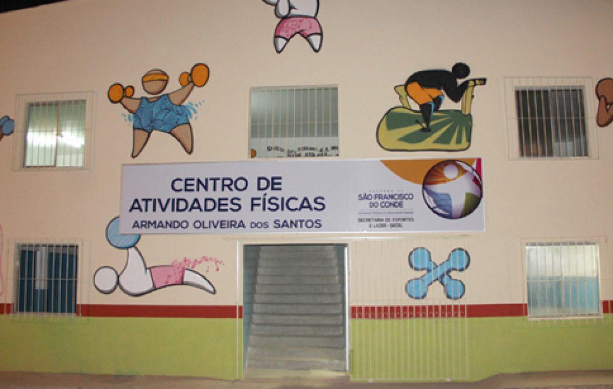 Matrículas para o Centro de Atividades Físicas Armando Oliveira dos Santos começam segunda-feira, 22