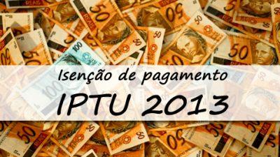 Isenção de pagamento de IPTU para servidores municipais efetivos