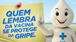 Sábado, 20 de abril, é Dia Nacional de Vacinação Contra a Gripe