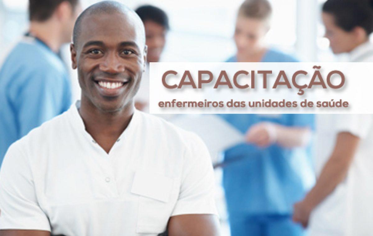 Saúde realiza capacitação de enfermeiros das Unidades de Saúde da Família e Atenção Básica