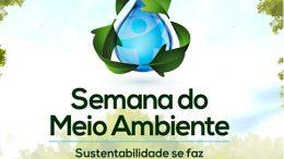 Semana do Meio Ambiente acontece de 03 a 05 de junho