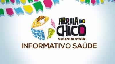 Saúde lista serviços disponibilizados durante o Arraiá do Chico 2013