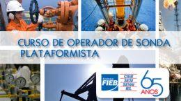 Estão abertas inscrições para curso de Operador de Sonda – Plataformista
