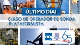 Inscrições para curso de Operador de Sonda terminam hoje (15)