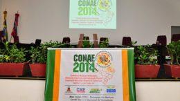 Palestra, samba chula e a participação popular marcam o primeiro dia da Conferência da Educação