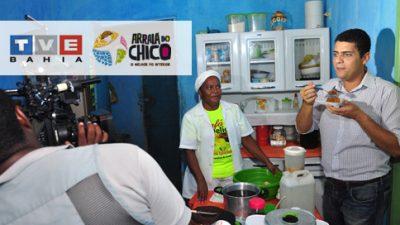 TVE vem à cidade conferir os preparativos para o Arraiá do Chico 2013