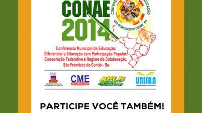 II Conferência Municipal de Educação começa 10 de junho