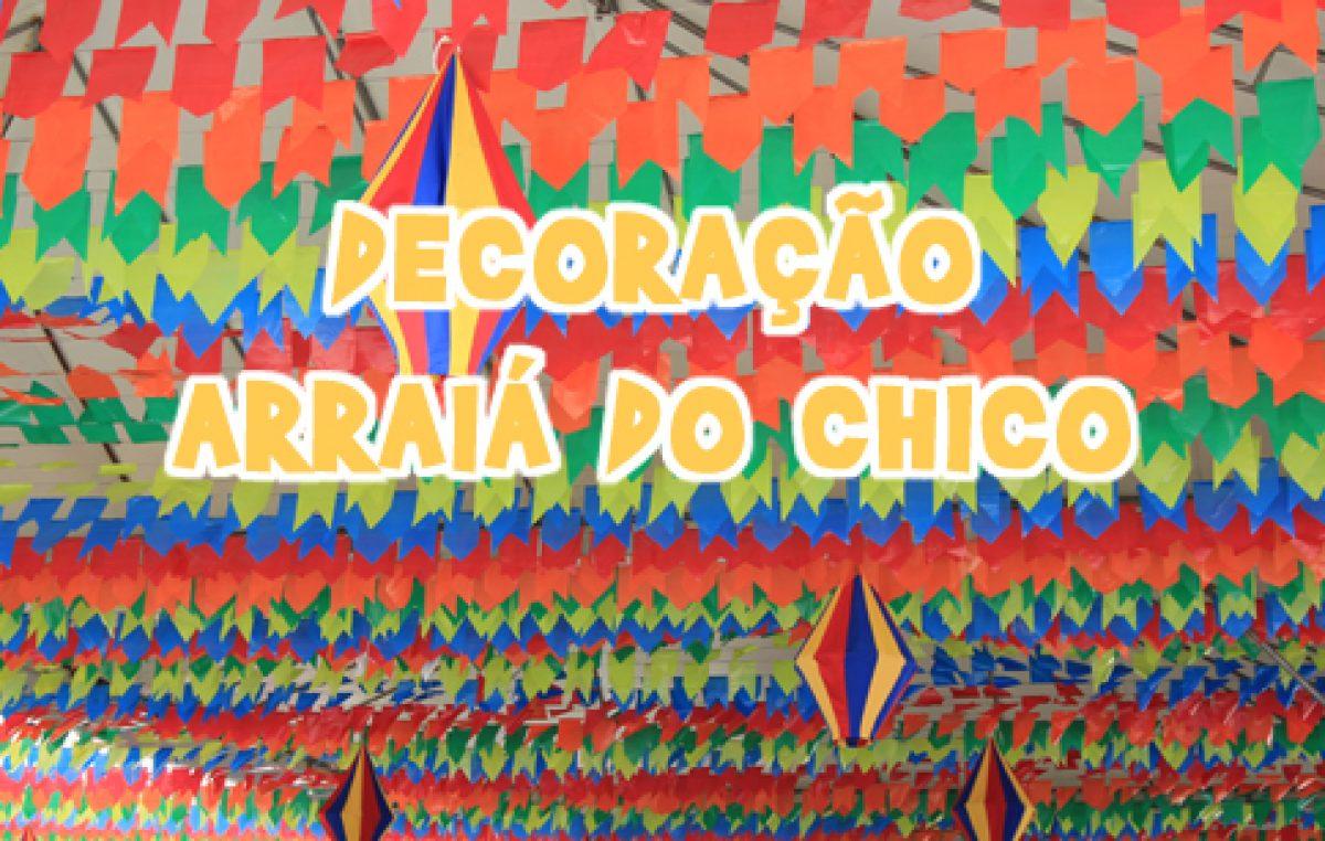 Ruas decoradas: clima de São João invade São Francisco do Conde