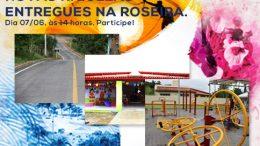 Bairro da Roseira: Inaugurações de espaços públicos e entrega de escola reformada acontecem nesta sexta-feira