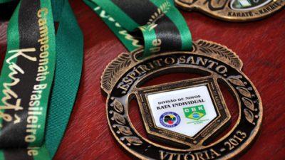 Delegação de Karatecas é recebida no gabinete da Prefeitura
