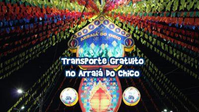 """São Francisco do Conde oferece transporte gratuito para os cidadãos durante o """"Arraiá do Chico"""""""
