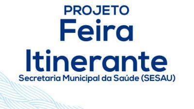 """Saúde realiza """"Feira Itinerante"""" no Caípe de Baixo"""