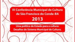 SECULT promove III Conferência Municipal de Cultura em São Francisco do Conde