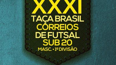 Corinthians sai na frente da disputa pela XXXI Taça Brasil Correios de Futsal Sub- 20