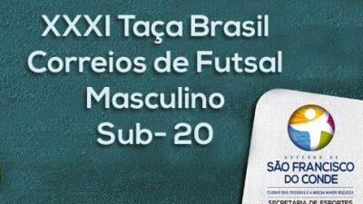 Times se enfrentaram pela liderança da Taça Brasil Correios de Futsal na última noite de embate
