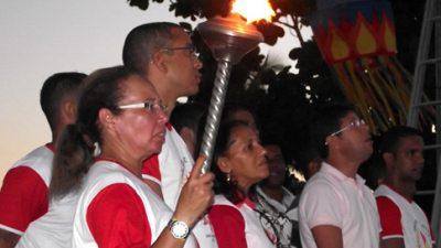 Fogo simbólico da independência passou por São Francisco do Conde