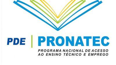 PRONATEC certificará alunos do município no próximo dia 10, quarta-feira