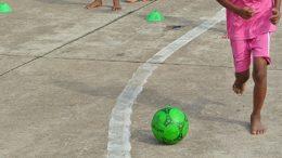 Projeto Ruas do Lazer reuniu mais de 200 crianças em atividades no Caípe de Baixo