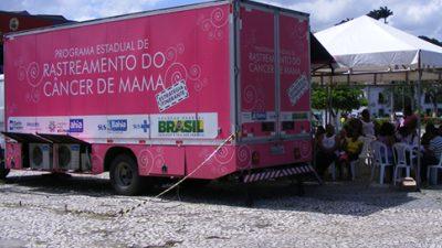 Unidade móvel de mamografia faz exames na orla até sábado