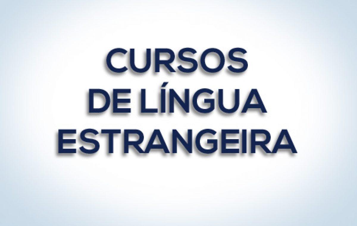 SETUR convoca alunos dos cursos de línguas estrangeiras