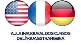 SETUR convoca para Aula Inaugural dos cursos de língua estrangeira