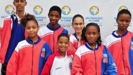 Delegação de karatecas sanfranciscanos segue rumo a Fortaleza