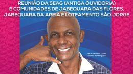 SEAG reunirá com comunidades de Jabequara das Flores, Jabequara da Areia e Loteamento São Jorge