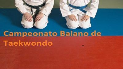 Atletas sanfranciscanos participam do Campeonato Baiano de Taekwondo