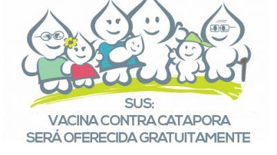 SUS: vacina contra catapora será oferecida gratuitamente