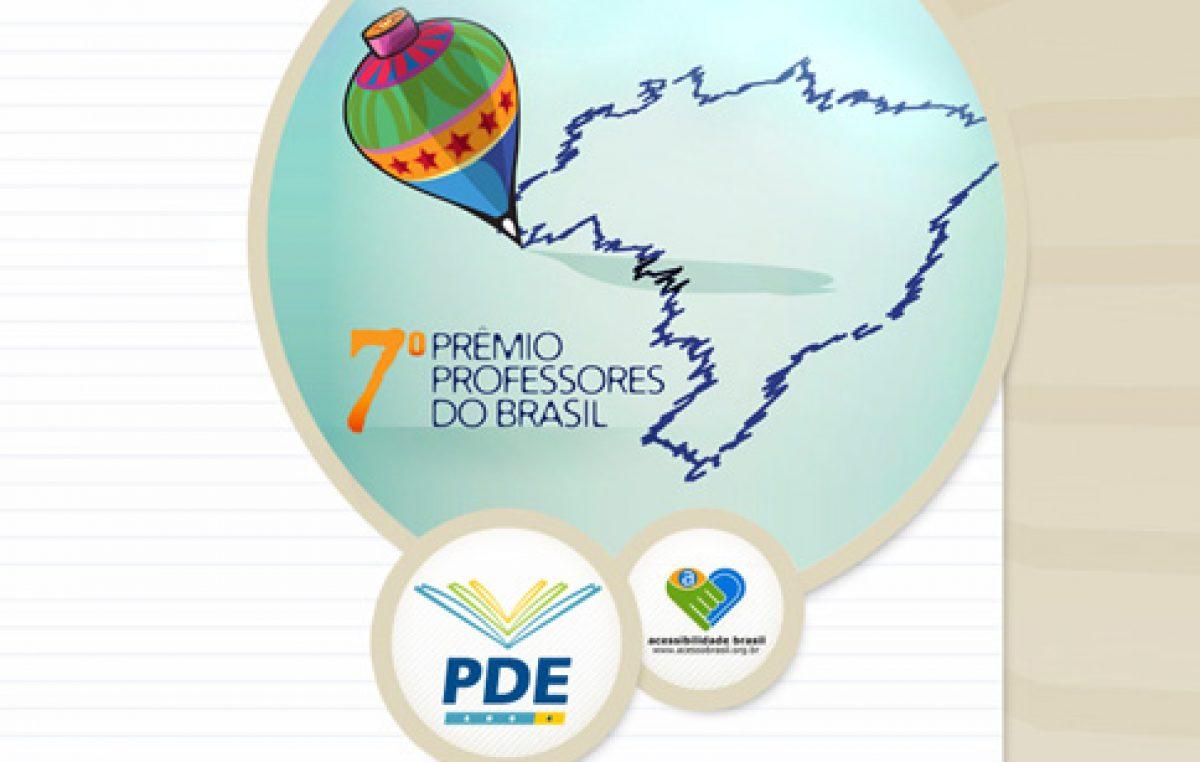 Prêmio Professores do Brasil inscreve docentes de todo país