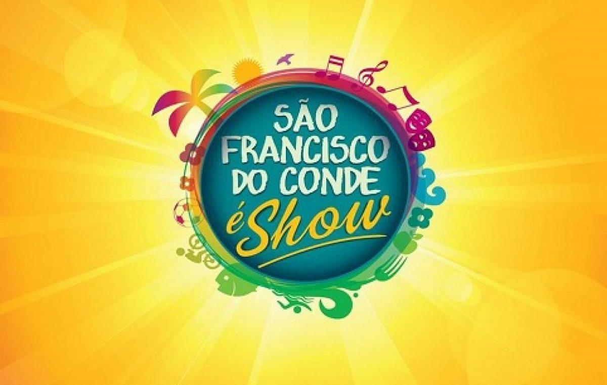"""Este final de semana tem o 1º """"São Francisco do Conde é Show"""" de 2014"""
