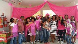 Município realizou Caravana Rosa contra o câncer de mama