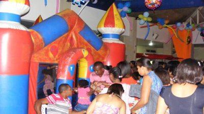 Crianças sanfranciscanas aproveitaram seu dia com diversas atrações no Mercado Cultural