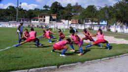 Equipe feminina de futebol joga nesta quarta-feira pelo Campeonato Brasileiro