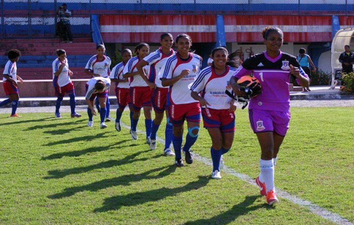 Futebol Feminino: São Francisco do Conde está na final do Campeonato Baiano