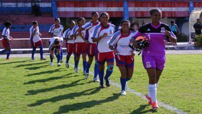 Equipe feminina vence jogo de ida da Copa do Brasil