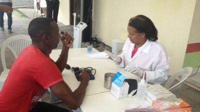Saúde promoveu ação para os moradores do Monte Recôncavo