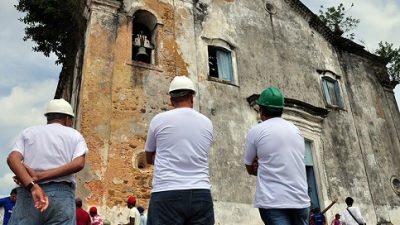 Novembro Negro: comunidade do Monte Recôncavo ganha ordem de serviço para restauração da Igreja