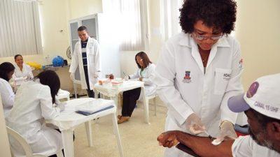 SESAU realiza atendimentos voltados para saúde dos homens na USF da Baixa Fria