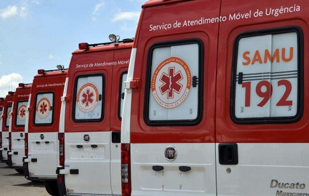 SAMU 192 de São Francisco do Conde terá frota renovada com 02 novas ambulâncias em 2019
