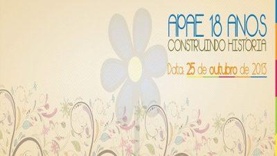 APAE promoveu VI Conferência em homenagem aos 18 anos de existência da instituição