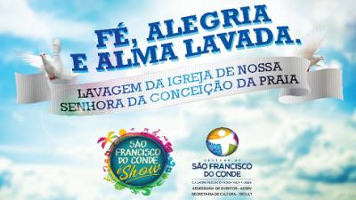 Festa da Conceição da Praia terá abertura nesta quinta-feira, 28 de novembro